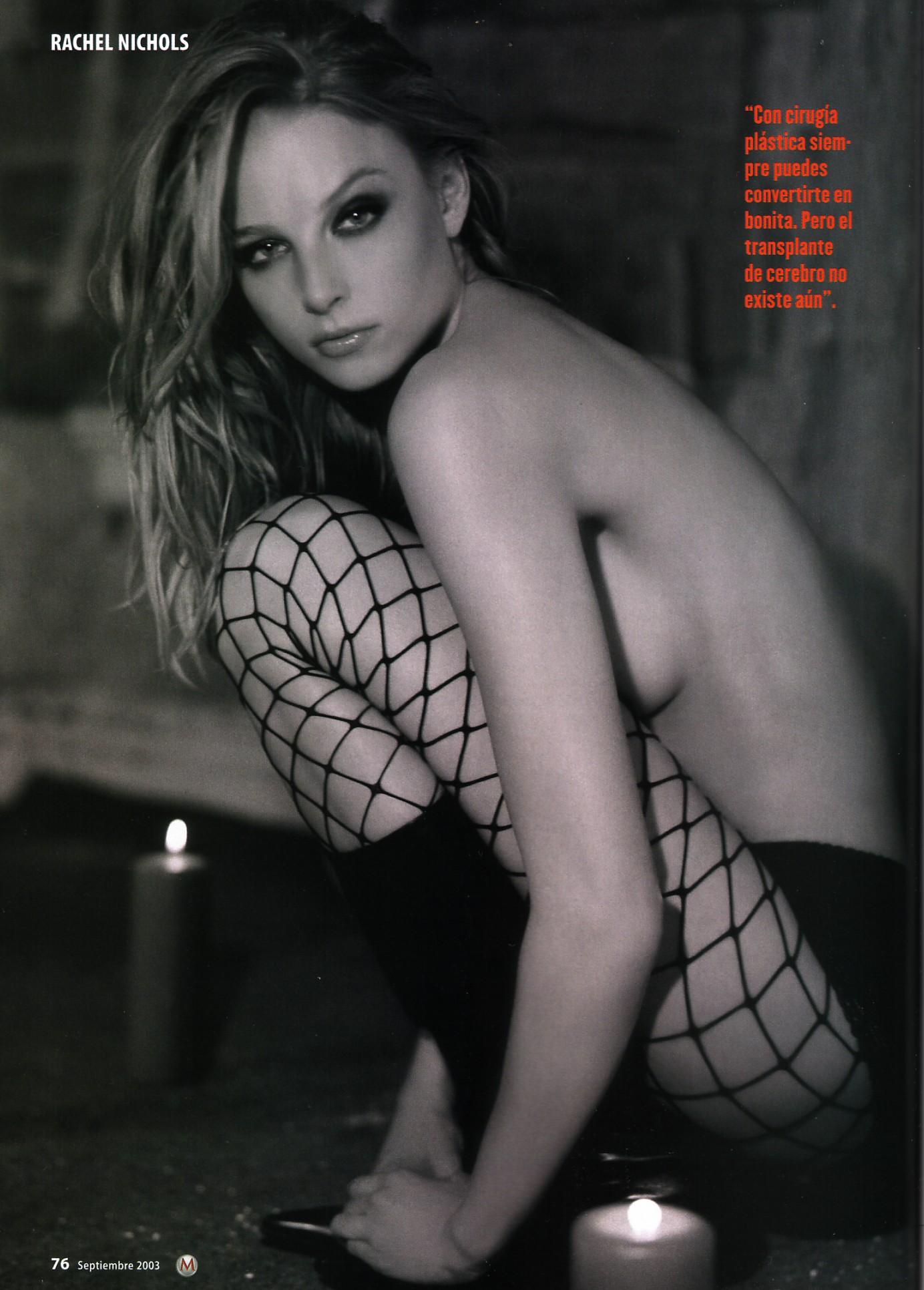 Rachel nichols actress nude