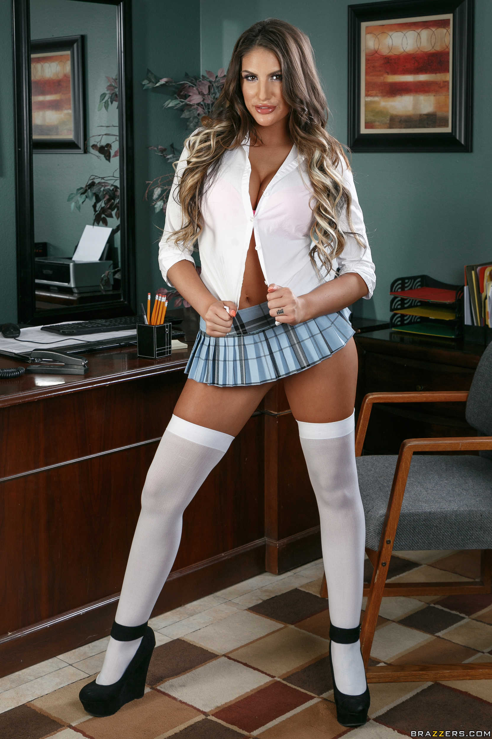 Student teacher affair august ames