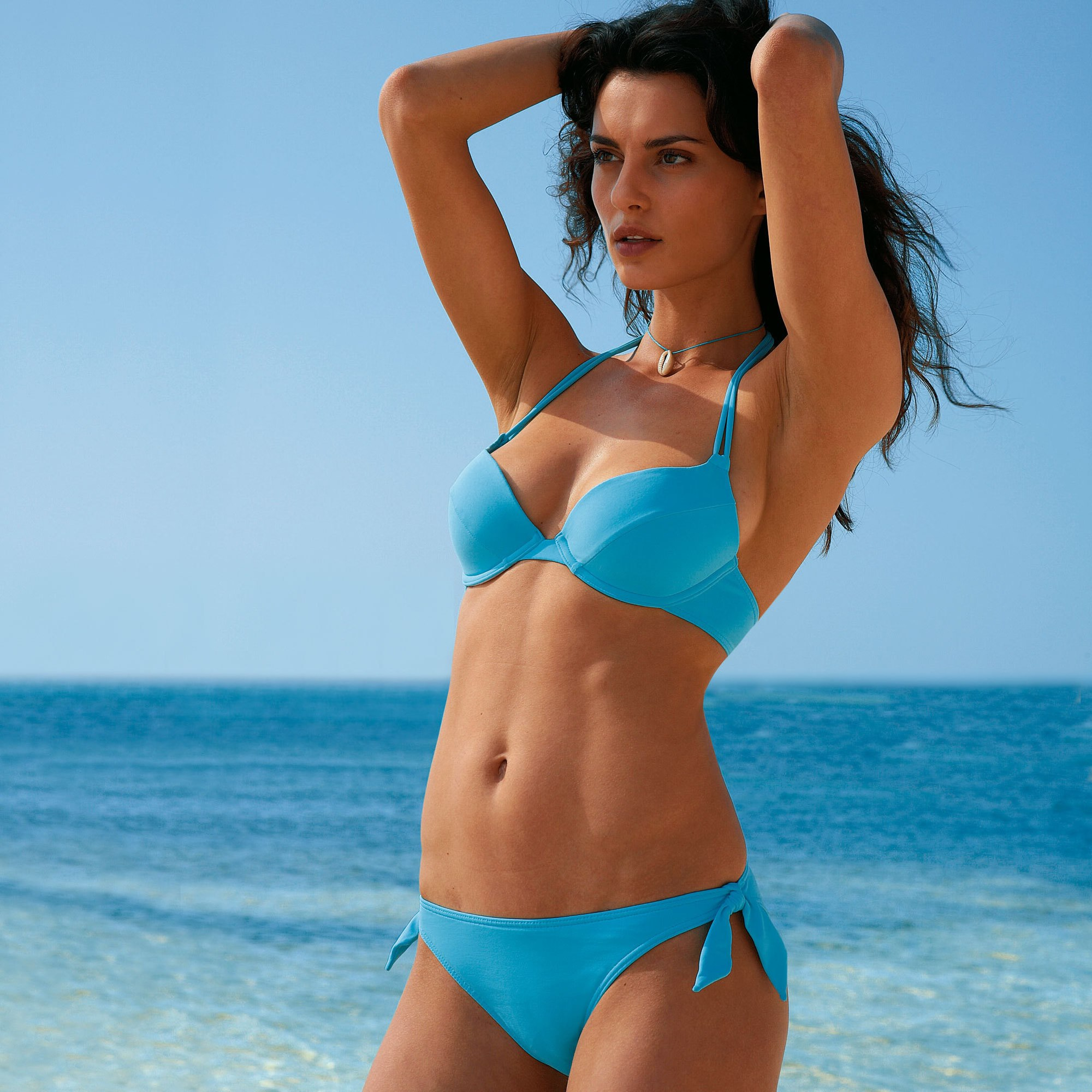 Models catrinel menghia for Water bra wiki